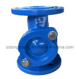 Getto Iron/Ductile Iron Ball Check Valve con Epoxy Coating