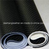 中国(DN-059)の完全な穴があいたファブリックビニールの革