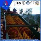 Do parafuso Process mineral do dobro do banho de água de cal do minério da alta qualidade de Baite classificador espiral/classificador mineração do parafuso para a mineração do ferro/secagem da pasta