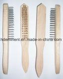 Venta caliente de alambre de acero inoxidable malla de limpieza de cepillo con gran precio