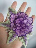 Plus de couleurs des fleurs patch broderie pour la décoration