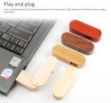 Madera Memoria USB de regalo de boda puede grabar su nombre