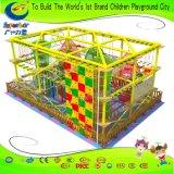Курс веревочки игр детей спортивной площадки Superboy, парк приключения, привлекательности приключения