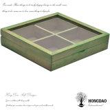 Cadre de mémoire en bois fait sur commande de Hongdao pour le thé Bag_D
