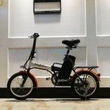 折る昇進の電気バイク