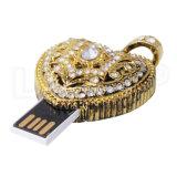Lecteur flash USB en cristal de bijou de Thumbdrive de mémoire Flash