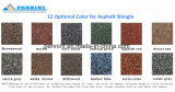 Tipo de Tejas normal y fibra de vidrio y tejas de asfalto Asfalto