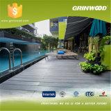 El suelo del Decking de la depresión del patio del balcón/impermeables saca Decking al aire libre de WPC