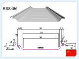 倉庫のための電流を通された金属の屋根ふきシート