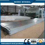 Hoja de cubierta de acero galvanizado por inmersión caliente galvanizada Gi