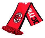 Sjaal van de Voetbal van het Voetbal van de Jacquard van de Ventilator van de sport de Acryl Gebreide