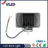 névoa do quadrado da luz do trabalho do diodo emissor de luz do projector 24W que conduz DRL SUV Offroad