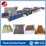 Équipement d'extrusion de plaques composites en bois-plastique en PVC