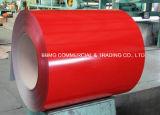 A telhadura de Dx51d/SGCC/ASTM Prepainted a bobina de aço revestida cor galvanizada Gi/PPGI quente/laminada