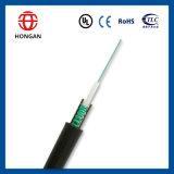 Câble fibre optique aérien GYXTW de conduit de 8 faisceaux pour le réseau