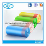 Qualitätplastikdrawstring-Abfall-Beutel mit Fabrik-Preis