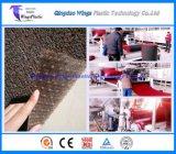 Tipo máquina da bobina do PVC do plástico da extrusão do tapete da esteira da linha de produção da esteira do carro/PVC