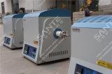 1300c Oven van de Buis van de Atmosfeer van het laboratorium de Vacuüm met het Verzegelen van Flens voor Experimenteel Onderzoek