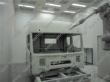La máquina de capa automática más nueva del polvo