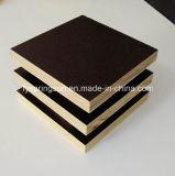 madeira compensada Shuttering enfrentada de 18mm película preta