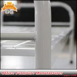 Mobiliário de Kd tubo redondo de ferro da estrutura de metal cama de solteiro