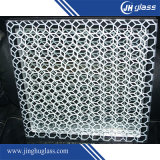4, 5, 6, 7 milímetros de la seguridad de la ventana de vidrio de la pantalla de seda