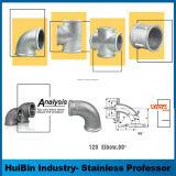 un riduttore sanitario standard dei 304 316 dell'acciaio inossidabile 3A accessori per tubi
