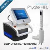 Rejuvenecimiento vaginal portable Hifu de la pantalla táctil del color de la seguridad/máquina de Hifu