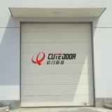 Дверь гаража автоматического промышленного двойника пакгауза стальная надземная секционная