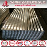 Feuille ondulée de toiture en métal de zinc d'IMMERSION chaude