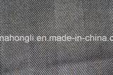 Os fios tingidos T/R tecido, Espinha de tecido, 63%33%Poliéster Rayon 4%elastano, 250g/SM