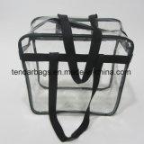 X12 libero della plastica 12 X sacchetto di Tote approvato dello stadio di 6 NFL con le maniglie nere