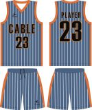Qualquer Cutom Design Any Logo Sublimation Team Basketball Jerseys Set