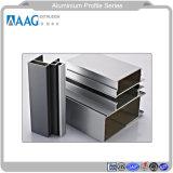 De alta calidad de Asia extruido de aleación de aluminio anodizado de perfiles con la superficie y el recubrimiento de polvo y madera