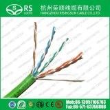 고품질 24AWG Cat5e CAT6 Cat7 UTP/FTP/SFTP PVC LSZH 통신망 근거리 통신망 케이블