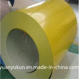Hoja de acero revestida prepintada de Galvanizedcolor para el cinc del almacenaje de la casa: 30g/60g/80g/100g/120g/140g