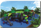 Woods Series Kids Piscina Playgrounds Deslize Playsets HD-031A