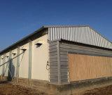 Estructura de acero cerrada de la capa de prefabricadas casa con el equipo (KXD-PCH1454)