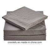 Nuevo diseño de hoja de cama Queen Size equipado cama Conjunto de hojas