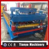 Outil de machines de l'équipement machine à profiler de tôle en acier double couche