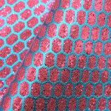 Cintilantes PU Couro Mermaid Lace Couro decorativos em couro artificial