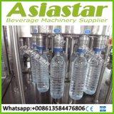 Mineralwasser-Haustier-Flaschen-füllende Zeile beenden