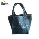 Anunciando a lona pura do algodão do uso carreg o saco