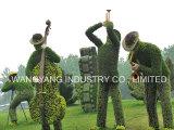 인공적인 잔디 음악 사람들 조각품
