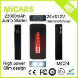 23000mAh début superbe de saut de batterie de la capacité 24V/12V avec le double USB