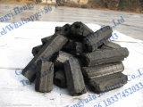 Mattonella del carbone vegetale della biomassa che fa macchina