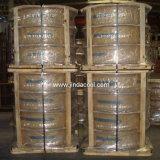 Waagerecht ausgerichtete Wundspulen-kupfernes Gefäß