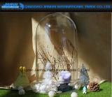 OEM het Glaswerk van de Dekking van het Glas van de Koepel van de Glazen kap met de Basis van het Glas