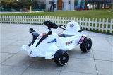 I nuovi bambini di disegno vanno telecomando Kart dell'automobile elettrica dei capretti di Kart che corre il veicolo
