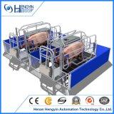 Клеть свиньи оборудования машинного оборудования земледелия порося с полом предкрылков свиньи